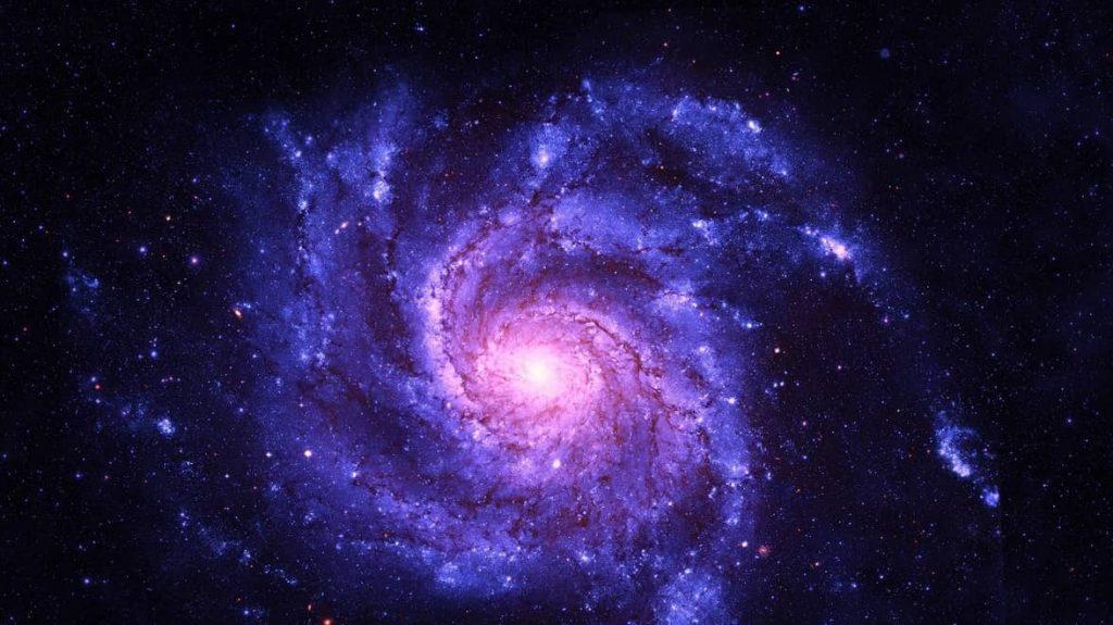 una hermosa galaxia para aprender de ella